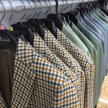 Kiton Sport Coats.