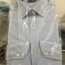 Baby blue, Tom Ford Dress Shirt.