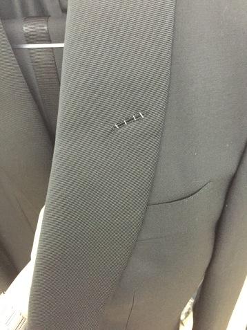Tom Ford Tuxedo Jacket, Detail