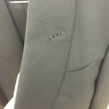 Tom Ford Tuxedo Jacket, Detail