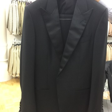 Tom Ford Peak Lapel Tuxedo Jacket