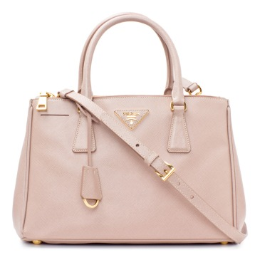 Prada Saffiano Carry-all Tote, Cameo.
